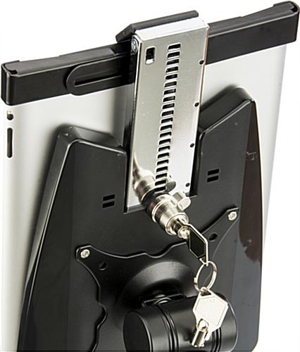Ipad Wall Mount Holder Tilting Enclosure For Optimal Viewing