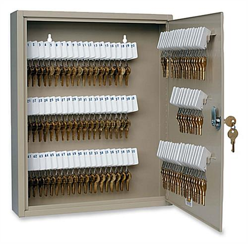 Key Storage Cabinet 80 Slots amp Tags
