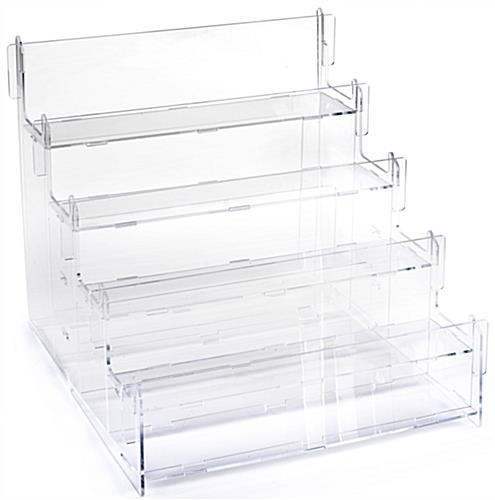 Acrylic Step Display with 4 Levels