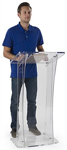 Collapsible Acrylic Podium for Presentations