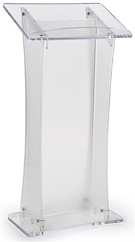 Acrylic Frosted Portable Lectern