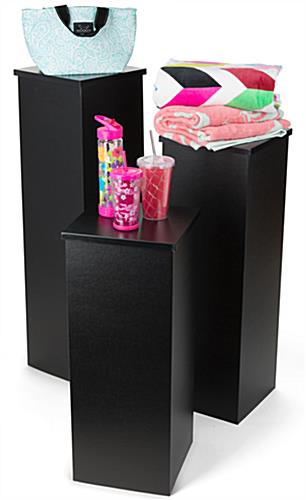 Black Fold Up Pedestal
