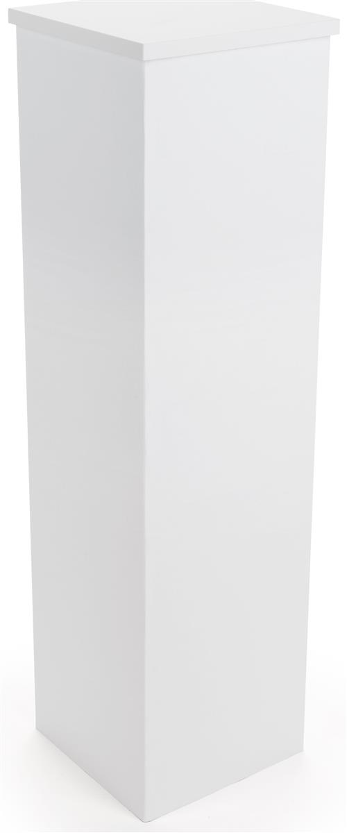 Cheap display pedestal 12 inch square table for 12 inch square table