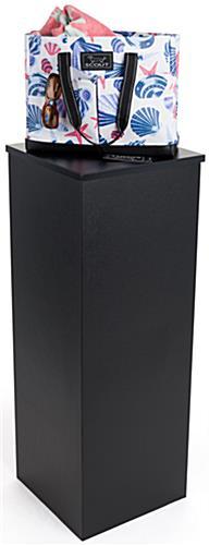 Corrugated Cardboard Pedestal 15 5 X 42 Square Stand