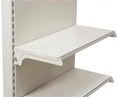 "12"" x 25"" Gondola Display Shelving"