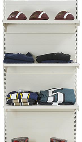 Steel Gondola Display Shelving