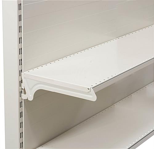 Gondola Slot Shelving for Retail Stores