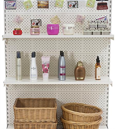 Gondola Slot Shelving can Promote your Smaller Products