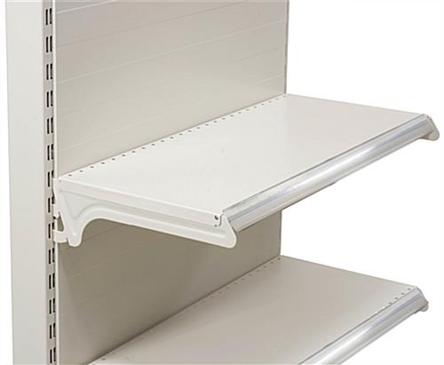 "Gondola Shelving Accessories for 25"" Wide Unit"