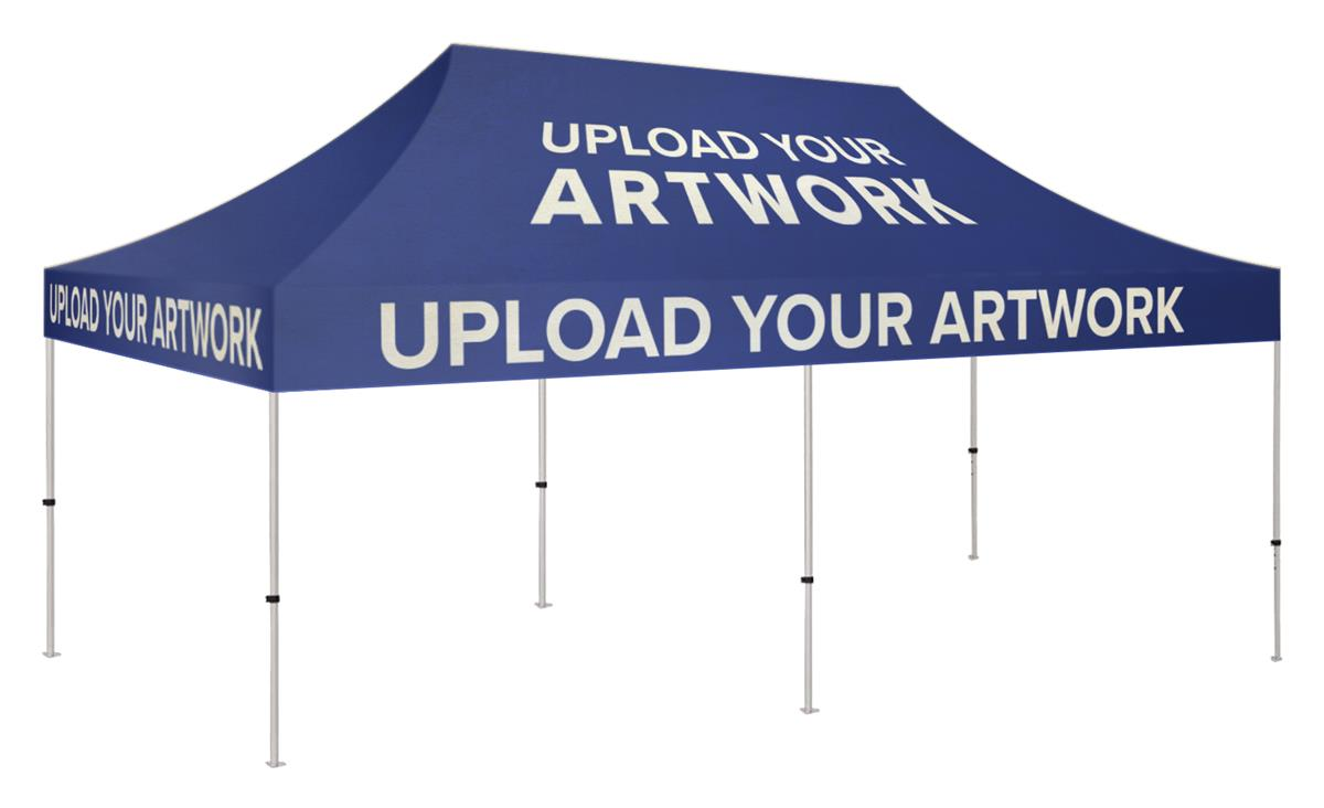 10x20 Pop Up Event Canopy High Quality Personalized Printing