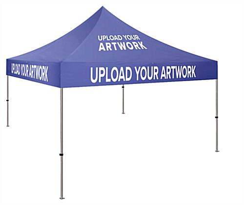 10 x 10 custom event tent with steel frame