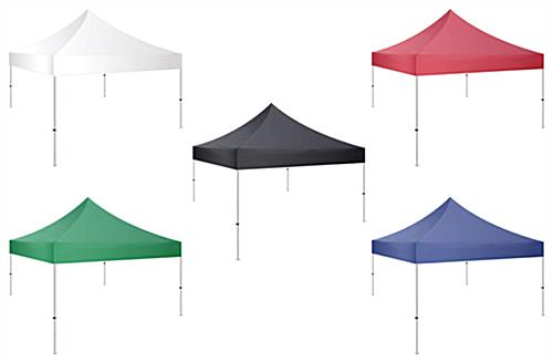 10x10 pop up canopy tent with multiple color options