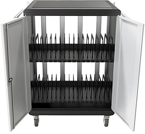 Chromebook Charging Station, Ventilated Sides