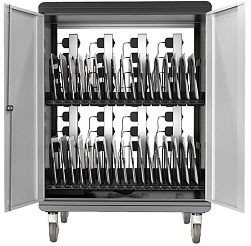Black Chromebook Charging Station