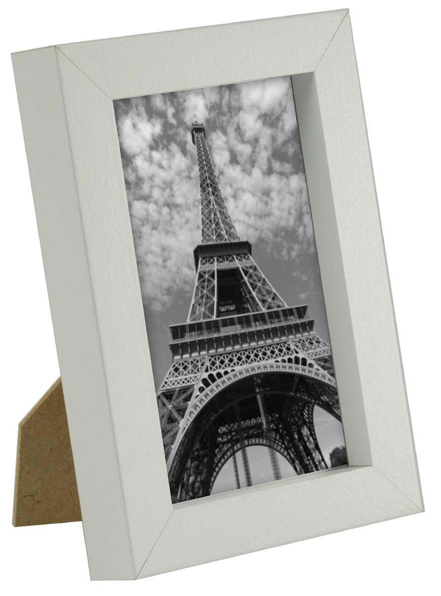 White Picture Frames Easel Back W Neutral Finish