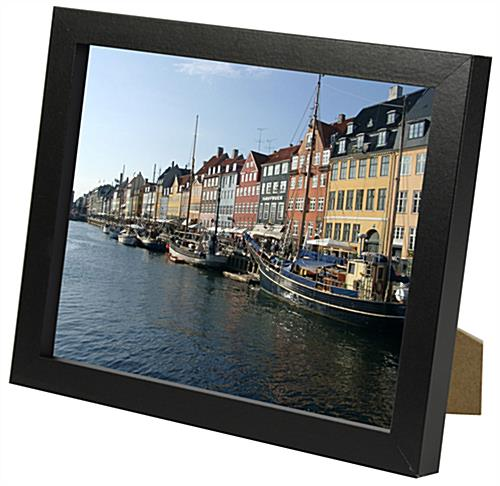 Wood Picture Frame w/ Black Finish & Mat | 6"|500|486|?|6c743f956b707c49a99961ea26b54c16|False|UNLIKELY|0.34083640575408936