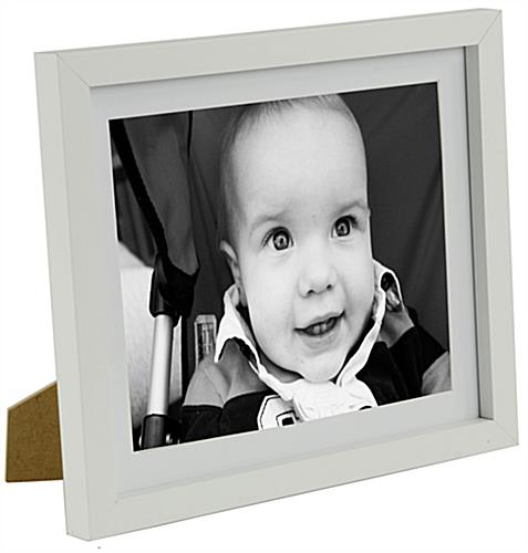 "Wood Picture Frames Available In 6"" x 8"" And 8"" x 10"""