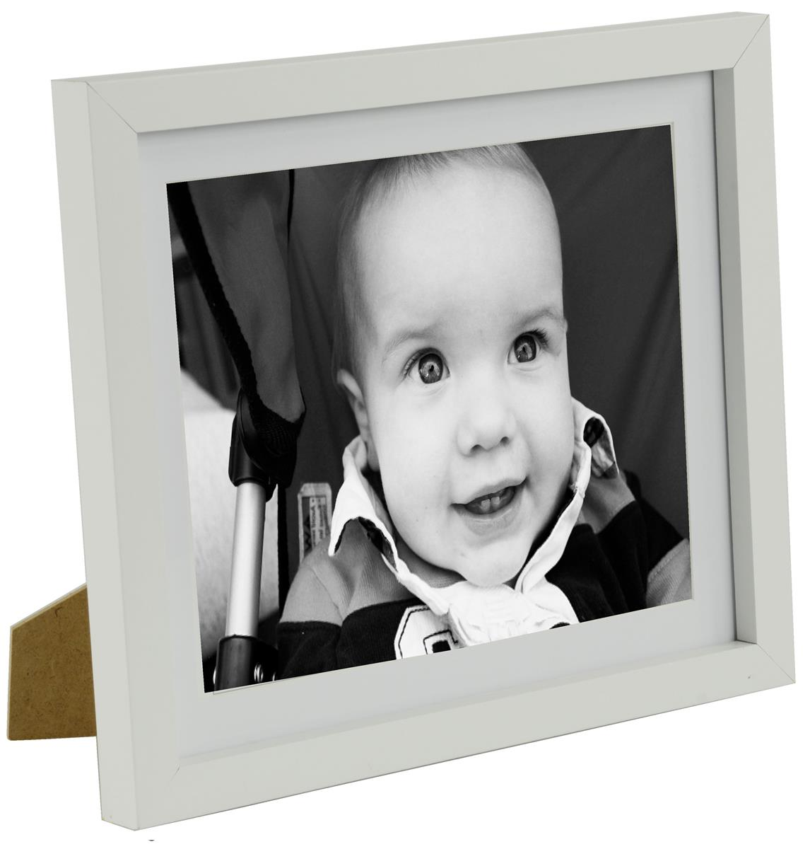 8 x 10 matted wood picture frames white jeuxipadfo Gallery