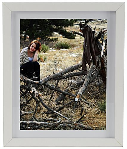 Wooden Picture Frame With Removable Matting