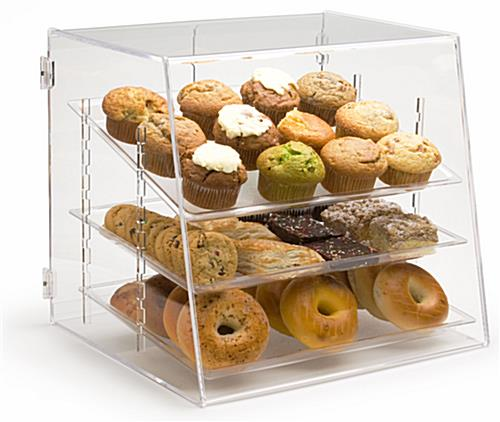 Pastry Bins 3 Plastic Trays To Showcase Goods