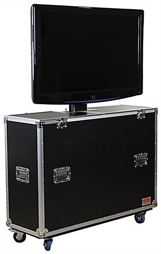 TV Shipping Case with Electric Lift