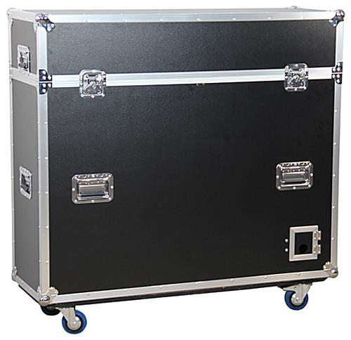 TV Flight Case with a Laminate Surface