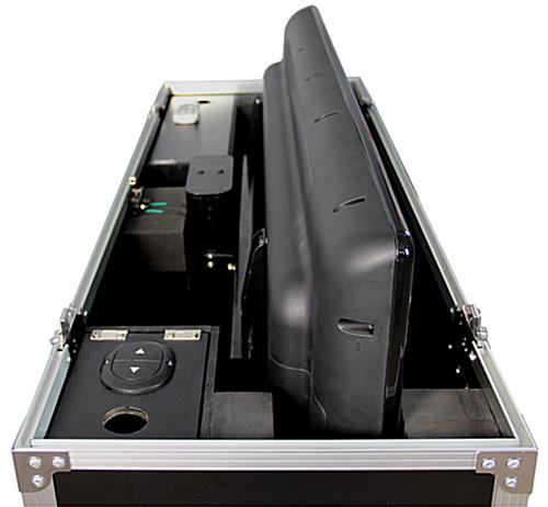 TV Flight Case with Tilt Indicator