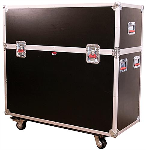 LCD Shipping Case with Presentation Drape