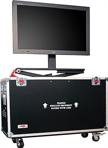 LCD Shipping Case with Laptop Tray
