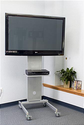 Flat Screen Floor Stand for Office Use