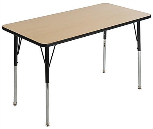 Rectangular Elementary School Table