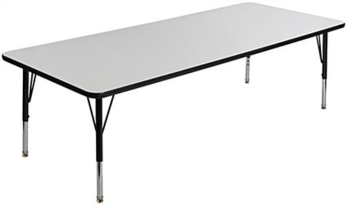 Rectangular Childrens Dry Erase Table