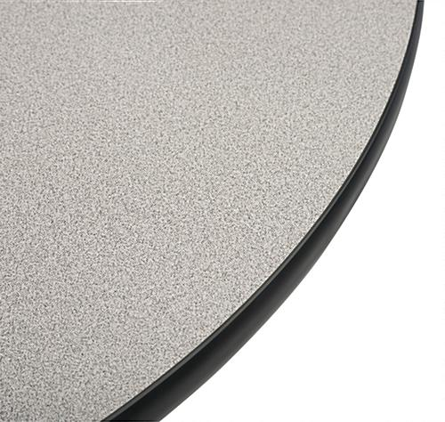Round Breakroom Table with Laminate Surface