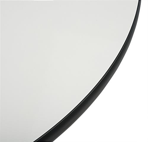 Round Whiteboard Table with Protective Band
