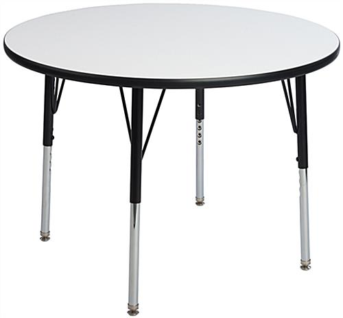 "36"" Wide Round Whiteboard Table"