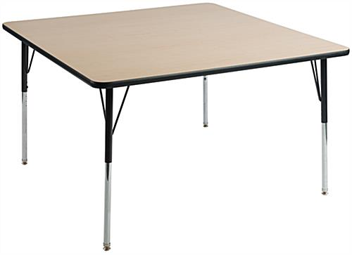 "Office Lunchroom Table with 1"" Thick MDF Top"