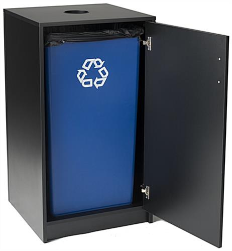 Restaurant Recycling Unit with Drop Top