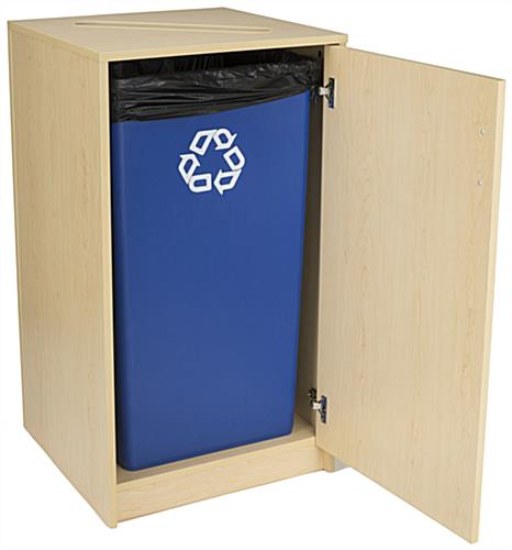 Paper Recycling Bin Container Can Hold 36 Gallon Liner