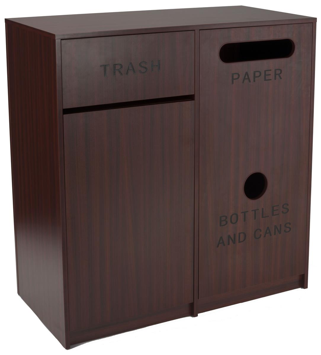 Commercial Trash Can Cabinet