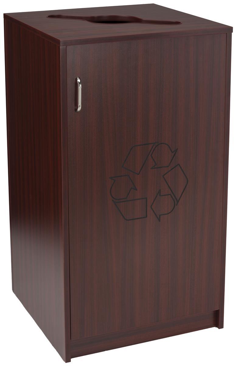 Indoor Recycling Enclosure Mixed Materials Slot
