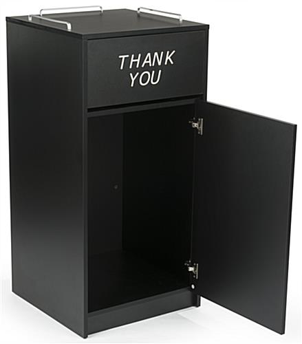 Thank You Restaurant Receptacle, 18mm Thick Melamine