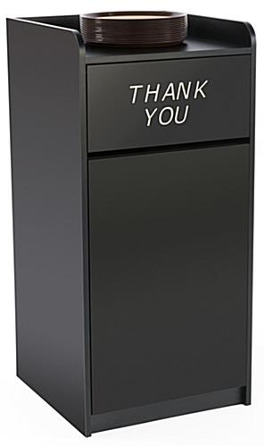 Thank You Trash Can Was Made For Large Containers