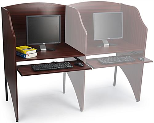 Testing Carrel In Use