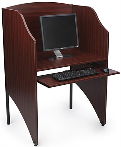 Office Carrel in Use