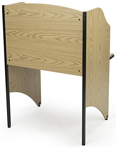 Back View of Carrel Table