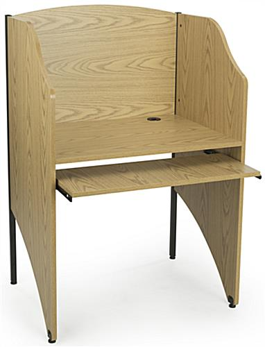 "32.75"" Wide Carrel Table"