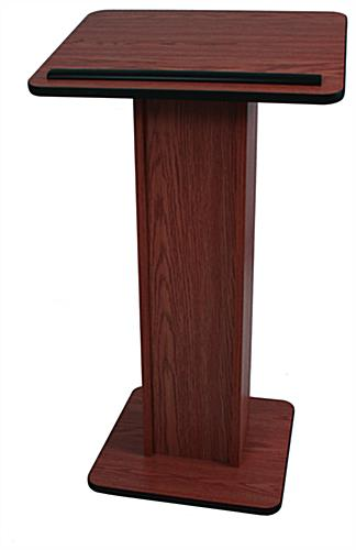 Scratch Resistant Lectern, Weighs 30 lbs