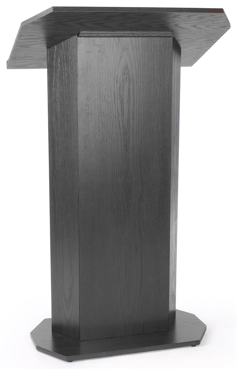 Displays2go Portable Podium for Floor, Large Reading Surf...