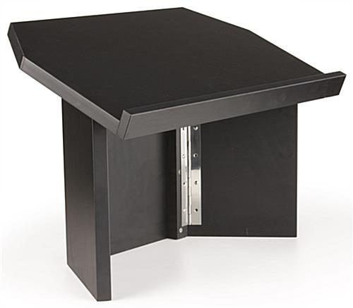 Tri folding tabletop lectern black for Solidworks design table zoom