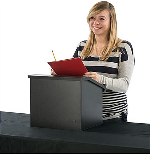 Collapsible Countertop Lectern Ships Fully Built